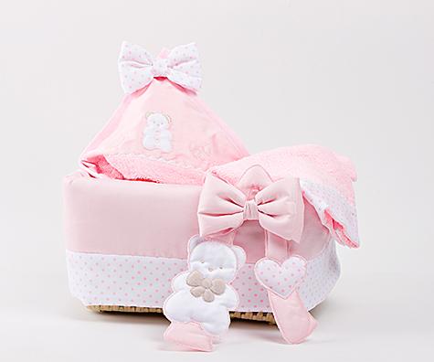 78217ab0953 Καλαθάκι καλλυντικών Picci coco ροζ - Mister Baby